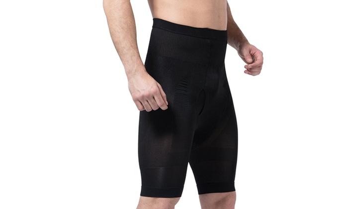 c70ab67a7f Men s Body Shaper Tummy Control Slimming Hi-waist Stretch Shapewear Shorts