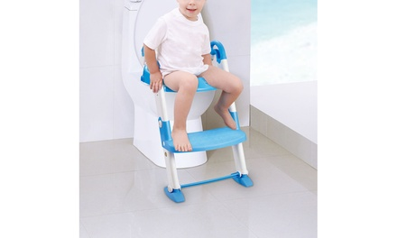 3-in-1 Children's Potty Training Toilet Chair with Step Trainer Ladder