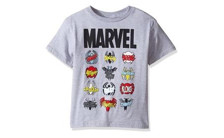 Marvel Little Boys' Spider-Man T-Shirt f1c76c5b-94a9-47de-9d38-60d954c47a71