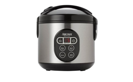 Aroma Digital Rice Cooker and Food Steamer, 4-Cup Uncooked, 8-Cup Cook 47bae330-ca1f-4c83-8c8a-e787f6d46208