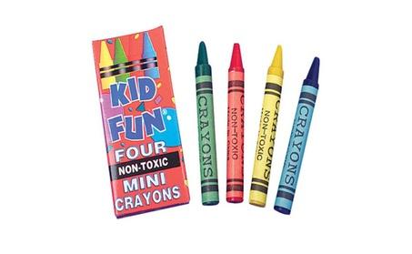 US Toy Company Mini Crayons/4-Bx (3 Packs Of 144) 800ea410-fdfb-4361-88ab-c535e3f9da48