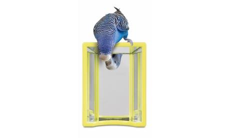 JW Pet Hall Of Mirrors Bird Toy, Color May Vary 00aa736e-44fd-4b17-8b55-635a2dfe0aad