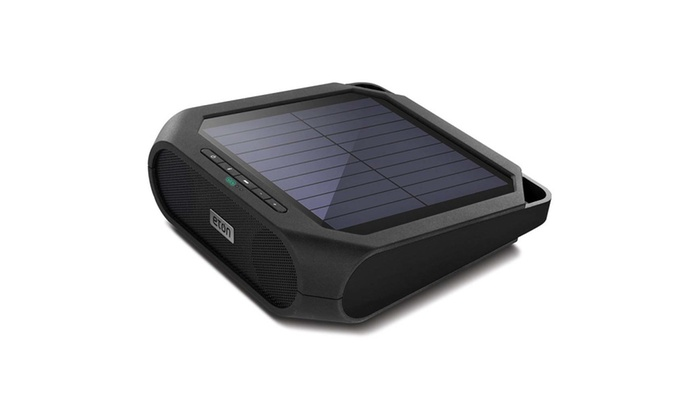 Eton Rugged Rukus Bluetooth Speaker System Solar Ed