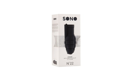 Sono No 22 Stroker With Vibrating Bullet ac25232c-bbb8-47f6-a5e7-2b5d12fd3806