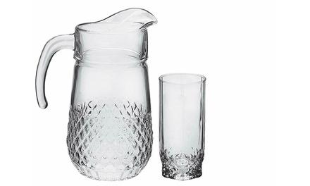 Set bicchieri e brocca Pasabahce