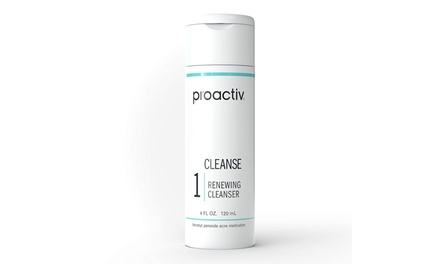 Proactiv 60 Day Renewing Facial Cleanser, Face Wash for Acne Prone Skin, 4 Oz Was: $27.99 Now: $18.99.