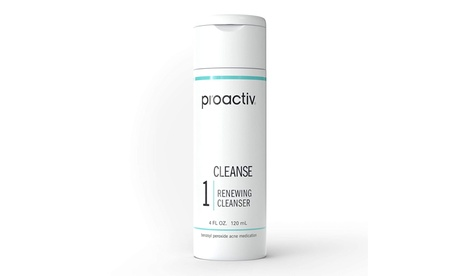 Proactiv 60-Day Renewing Facial Cleanser, Face Wash for Acne Prone Skin, 4 Oz
