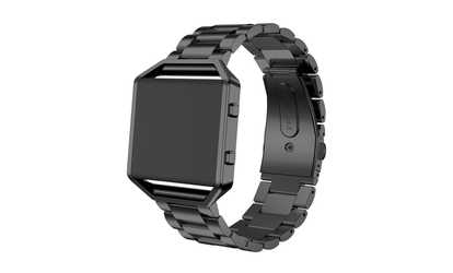 Shop Groupon Stainless Steel Wrist Strap For Fitbit Blaze in 4 Colors