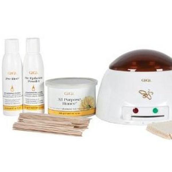 Hot Wax Warmer Waxing Kit Professional Removal Home Pro Hair Wax