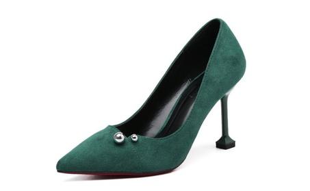 Women's Gaby Pointed Closed Toe Stiletto Pump Heels ca1d7249-34d0-4678-936b-15098451991f