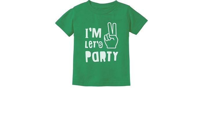 26dadb9e Up To 59% Off on I'm Two Let's Party Cute 2nd ... | Groupon Goods