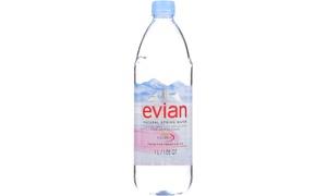 EVIAN NATURAL SPRING WATER ( 12 - 33.8 FZ )