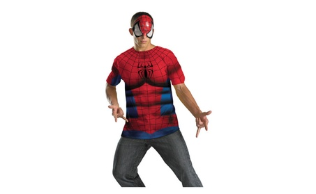 Morris Costumes Halloween Party Spiderman Adult No Scars 33dcdfb4-ef71-4692-b2c6-c6f43479dd5f