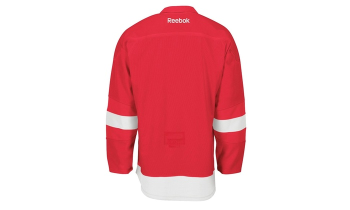 the latest ccc91 c93f2 Detroit Red Wings Reebok Edge Authentic Home Nhl Hockey Jersey