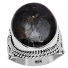 Orchid Jewelry 925 Sterling Silver 18 1/3 Carat Sugilite Ring