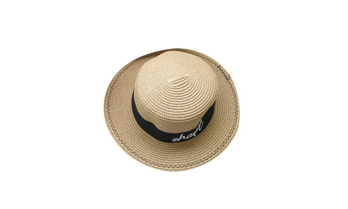 Women's Adjustable Cuff Wide Brim Sun Hat