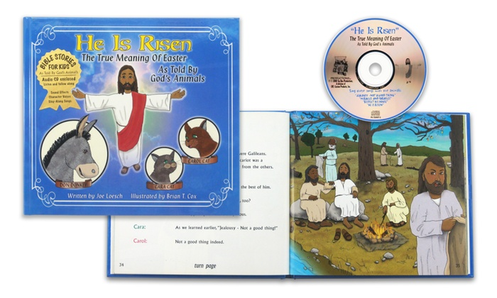 He Is Risen: The True Meaning of Easter Children's Book