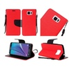Insten Leather Fabric Case W/stand For Samsung Galaxy Note 5 Red/black