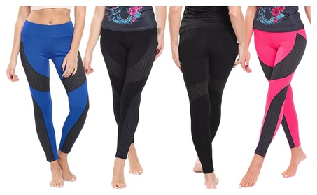 Women's Active Fitness Leggings High-Waist Power Stretch Yoga Pants c74af345-7c17-4733-9a55-95cd490cc6fe