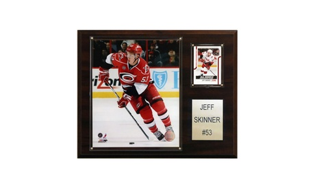 "NHL 12""x15"" Jeff Skinner Carolina Hurricanes Player Plaque dc55347d-deb4-4173-a797-269d85ce981c"