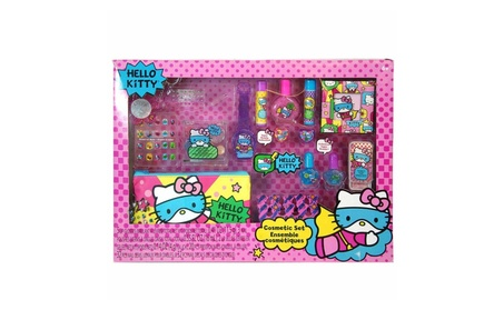 Sanrio Hello Kitty Mega Boxed Cosmetic Make-Up Set c7442c79-95c4-402f-8918-034d95504311