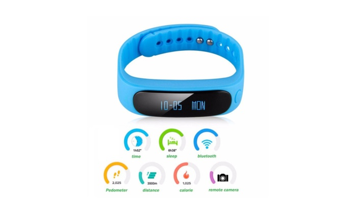 Smart Wristband Watch Pedometer Bracelet Sleep Sports Activity Tracker