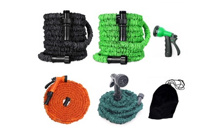 Latest Lightweight Premium Magic Expandable Garden Hose with Storage Bag Was: $53.99 Now: $21.99