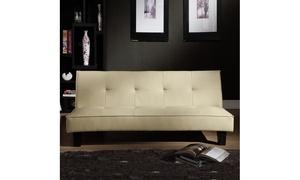 Tufted Mini-Sofa Bed Lounger