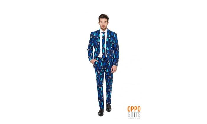 aa0d9c81c1b OppoSuits Men s Winter Woods Christmas Party Costume Suit