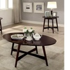 Furniture of America Levin Mid-Century Modern 3-Piece Table Set
