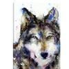 Wolf II by Dean Crouser Canvas Print