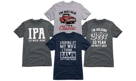 Men's Tops Selling Sarcastic & Funny Tees