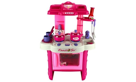 Velocity Toys Kitchen Appliance Children's Toy Cooking Play Set fee722f2-6cc5-4ace-8d29-2251febc0955