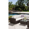Francisco Outdoor Wicker Sectional Set with Sunbrella Cushions (7-Pc.)