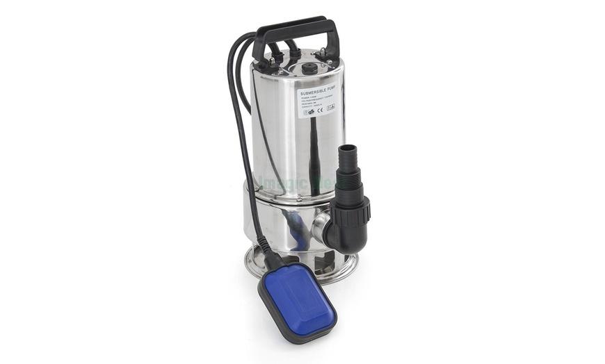 Submersible Water Pump 1.5 HP Clean Clear Dirty Pool Pond Flood Drain 4300GPH