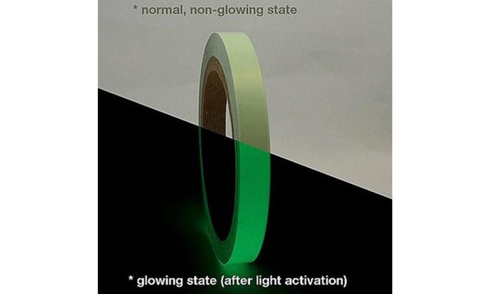 Luminous Tape Self-adhesive Waterproof Glow In The Dark Safety Stage Home Decor