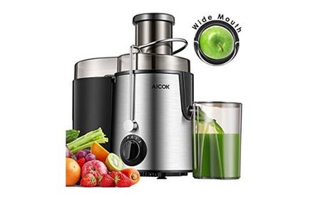 Aicok Juicer Juice Extractor Stainless Steel Dual Speed Setting Juicer photo