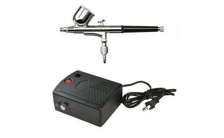 AGPtEK Multi-Purpose Dual-Action Gravity Feed Portable Airbrush Set d8f8286e-b558-4f6f-8c8d-3fa644c176fb