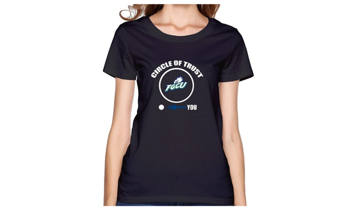 SILFA Outlet: ZOENA Women's T-shirts - FGCU Eagles Circle Of Trust