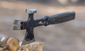 3-in-1 Multi-Function Hatchet, Hammer, and Crowbar