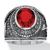 Ruby Marines Ring in Stainless Steel