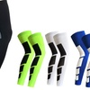 Compression Leg Sleeve Basketball Football Knee Support Warmer Shin Splint Socks