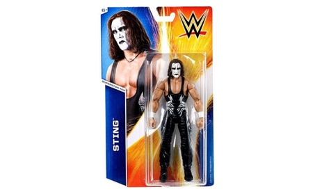 WWE Wrestling Series 55 Sting 6 Action Figure #60 09590fdd-3de0-407b-a6d8-0bf7b111f79b