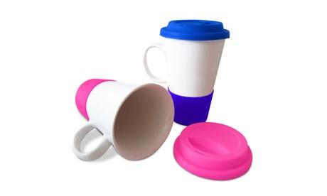Matching Porcelain Tumblers- 1 Pink & 1 Blue (PG93899) 3b76e6e2-b977-408e-8f4e-7a9e0b27a67d