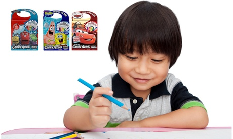 (3 Pack) Bendon Carry Along Traveler Drawing Pads with Markers or Jumbo Crayons a1c66810-eeca-46d1-a9a5-73846327862a