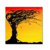 Roderick Stevens Windblown Tree Canvas Print