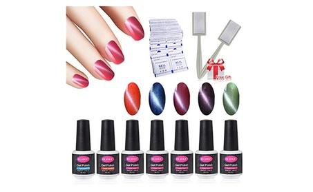 5pcs Magnetic Nail Polish Set Nail Art Kits fc1deaf7-3f97-4830-8e5b-6147a637f316