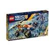 LEGO Nexo Knights Aarons Rock Climber 70355 Building Kit 598 Piece