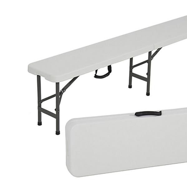Strange Folding Bench Portable Plastic Indoor Outdoor Picnic Party Dining 6 Ft Dailytribune Chair Design For Home Dailytribuneorg