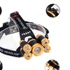 80000LM 5xt6 Zoom Rechargeable LED Head Light Torch